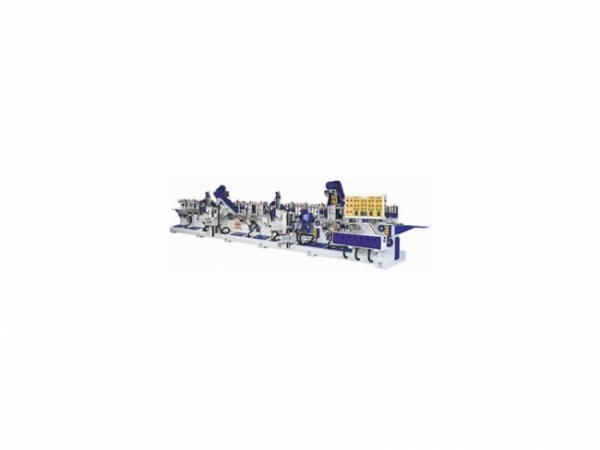 YL-380PA6FT 4-Sindes Linear & Profile Edge Sanding Machine