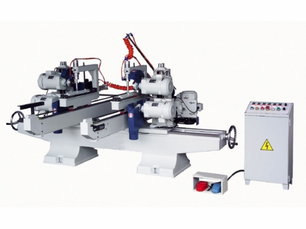 YL-626AST Double ended upper & lower saw with shaper