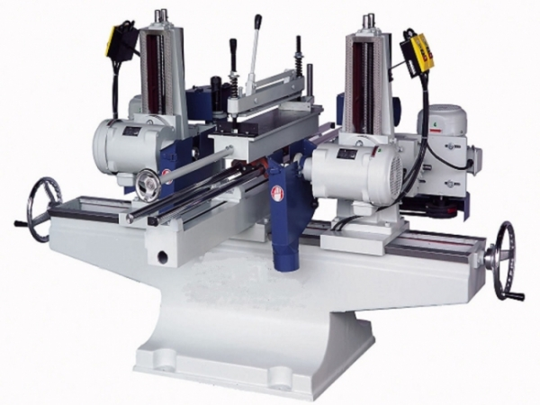 YL-424R Double ended circular sawing with shaper machine