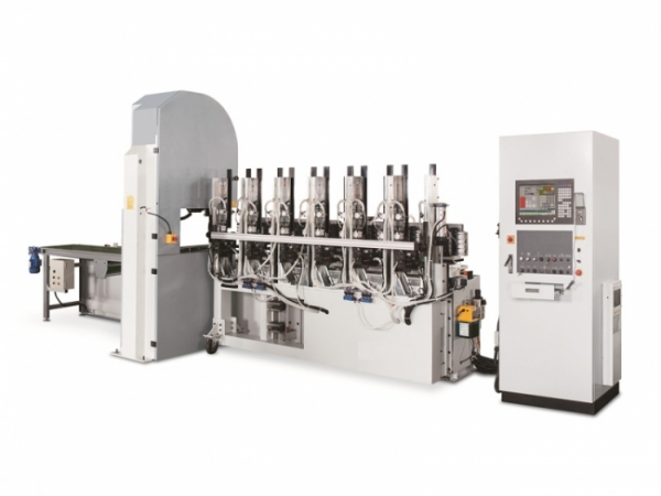 YL-020F CNC Band Saw With Automatic Feed