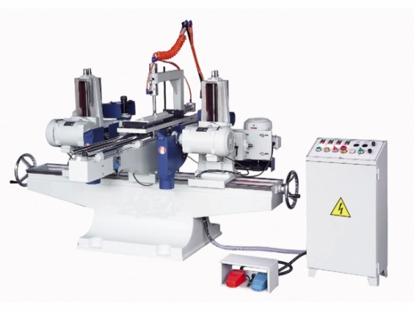 YL-424AR Double ended circular sawing with shaper machine